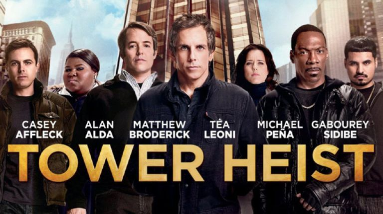Heist Movie - Tower Heist Hollywood English Movie- Rony Live